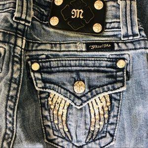 Miss Me Skinny Jean Size 25